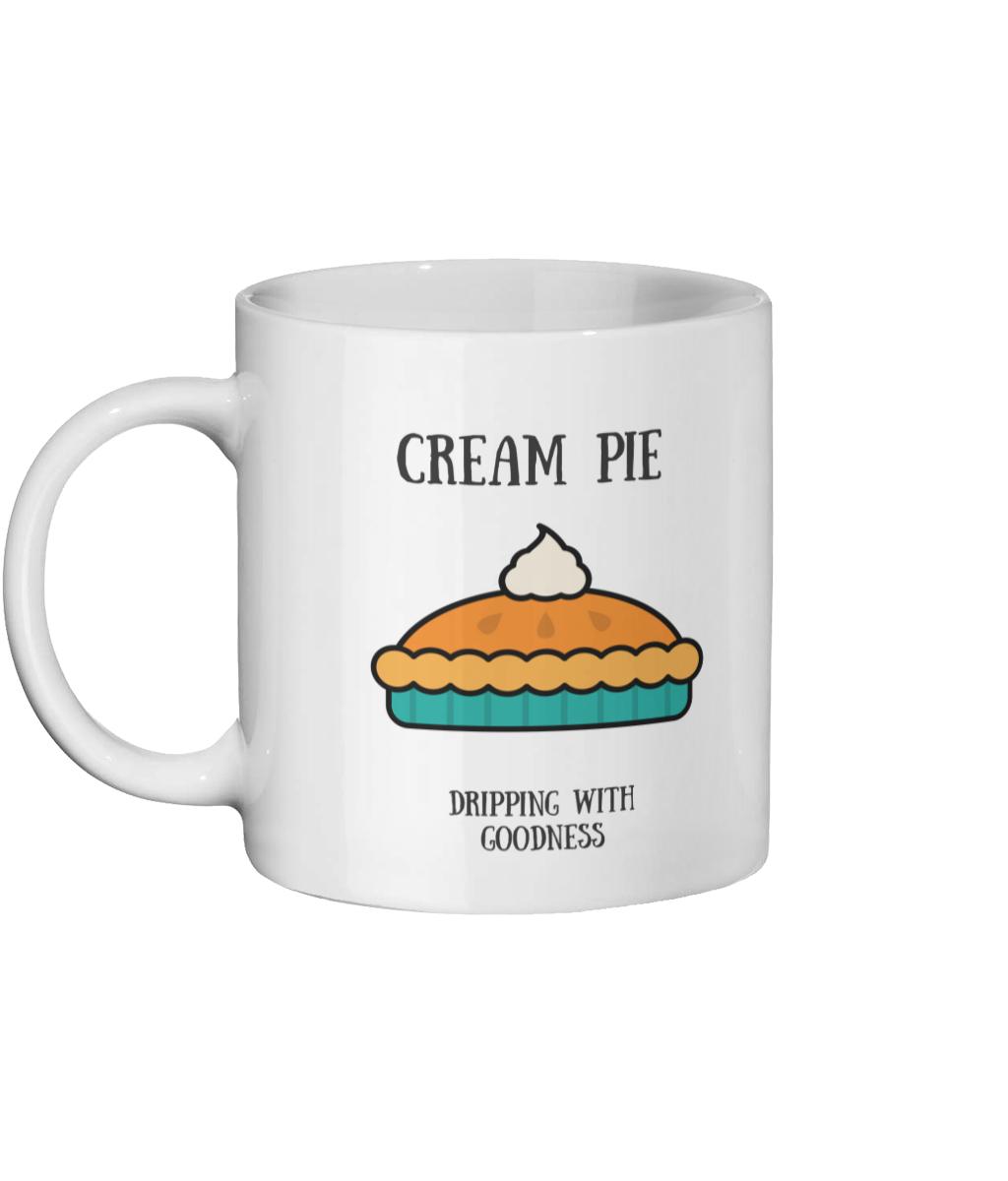 Cream Pie Mug Left side