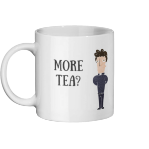 More Tea Vicar Mug Left-side