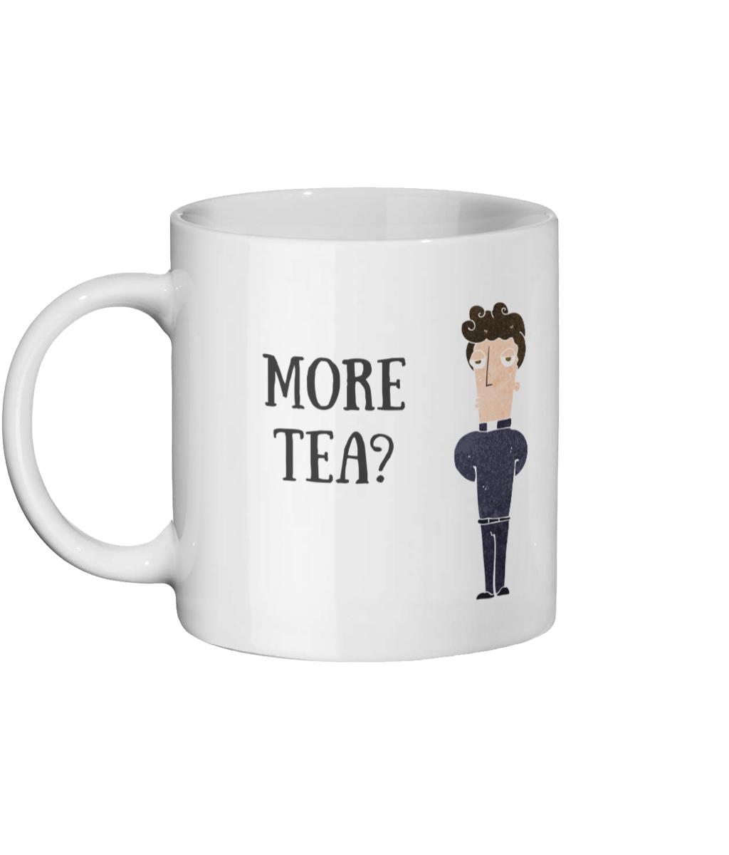 More Tea Vicar Mug Left-side