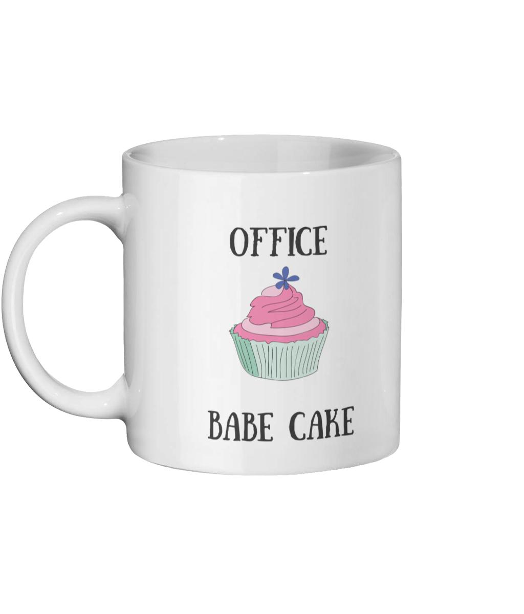 Office Babe Cake Mug Left-side