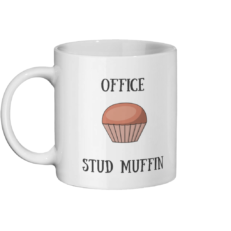 Office Stud Muffin Mug Left-side