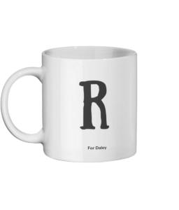 R For Daley Mug
