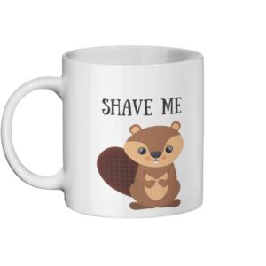 Shave Beaver Mug Left side