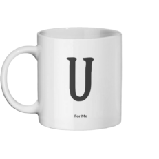 U For Me Mug Left-side