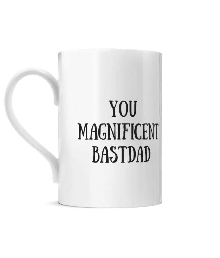 You Magnificent BastDad Posh Mug Left side