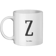Z for Miles Mug Left-side