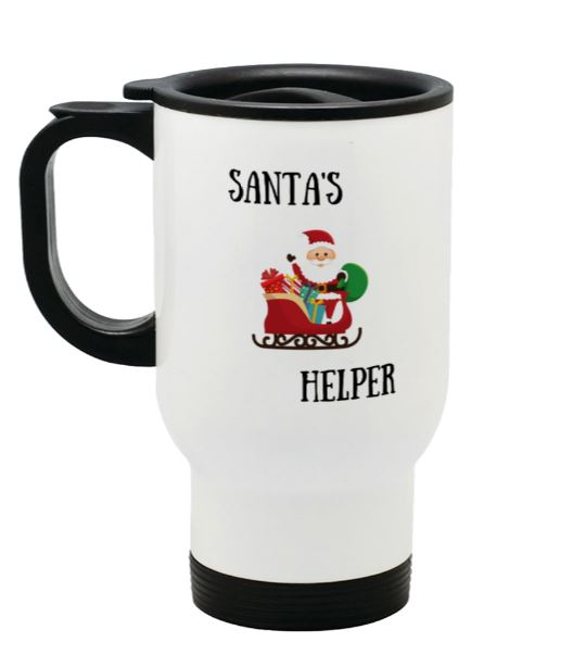 santa's helper left side