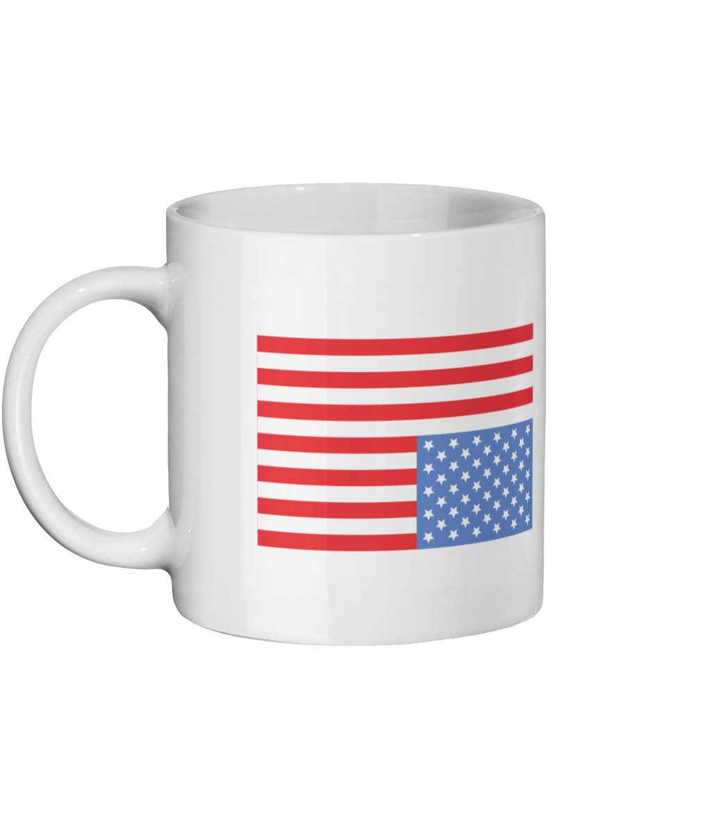 House Of Cards Mug Left-side