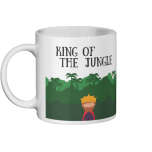 King Of The Jungle Mug Left-side