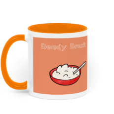 Two Toned Ready Brexit Mug Left-side